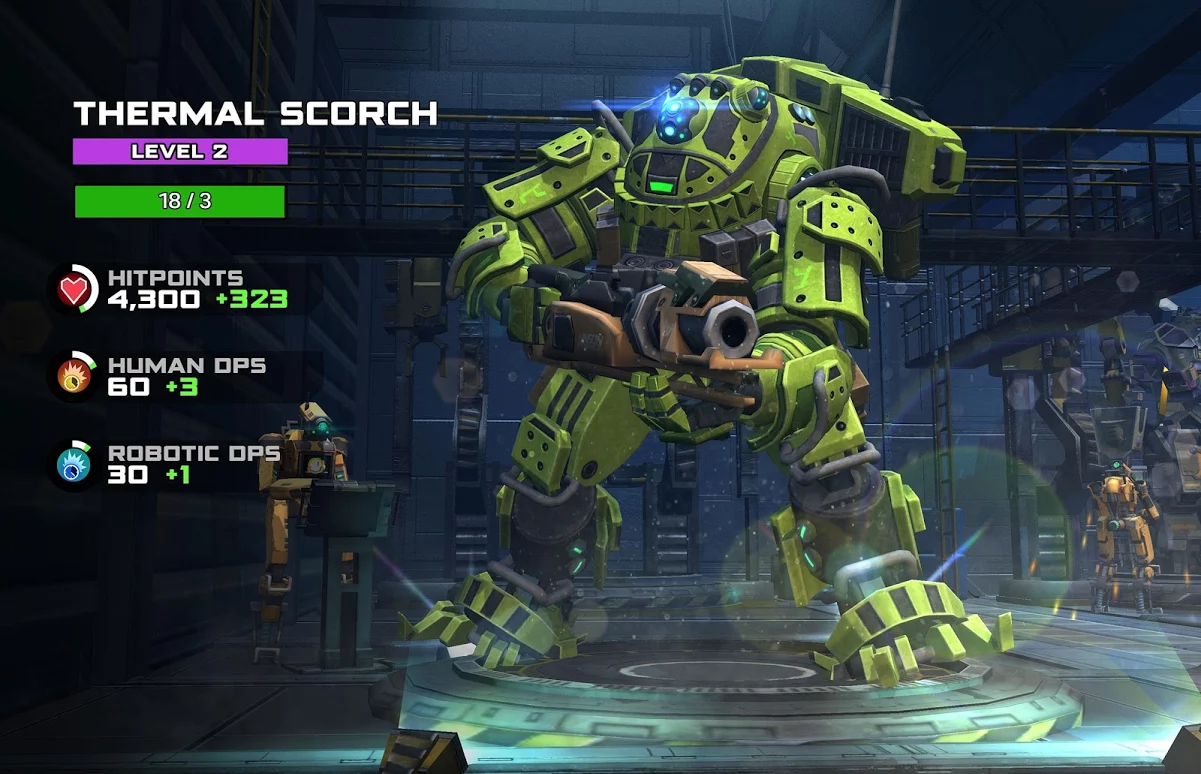 Titán Android en Titanfall Assault