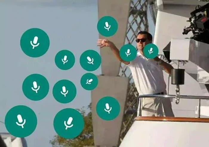Ya es posible grabar notas de voz estando fuera de WhatsApp