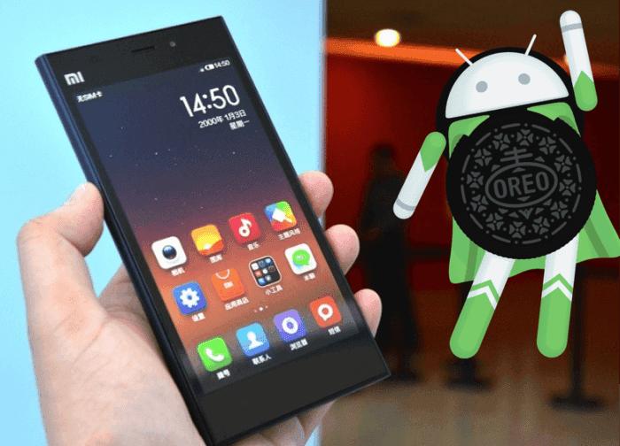 Android 8.0 Oreo ya está disponible para los Xiaomi Mi3 y Mi4