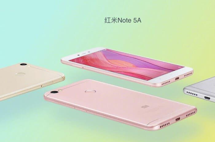 Ya conocemos el diseño y la fecha de presentación del Xiaomi Redmi Note 5A