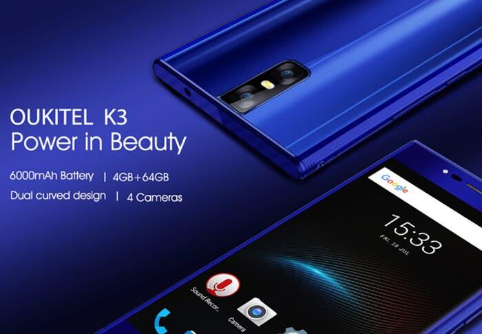 El nuevo Oukitel K3 llega con una cámara y un diseño de calidad
