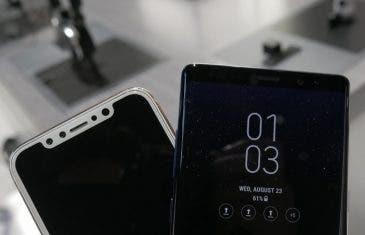 Fotos reales muestran el diseño del Samsung Galaxy Note 8 frente al iPhone 8