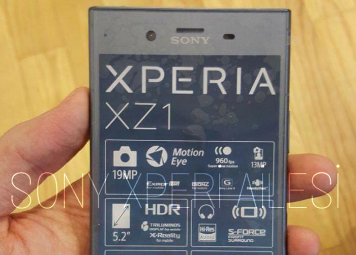 Así será el nuevo diseño del Sony Xperia XZ1