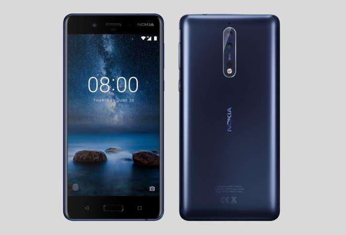 Filtradas las características oficiales del Nokia 8