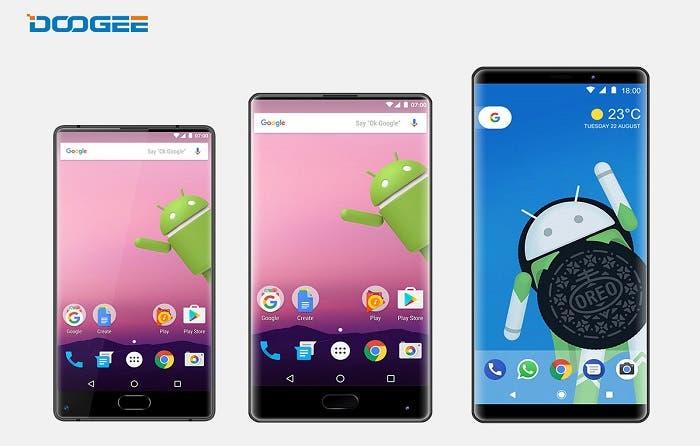 Doogee Mix Plus llegará en octubre y será el primero con Android Oreo