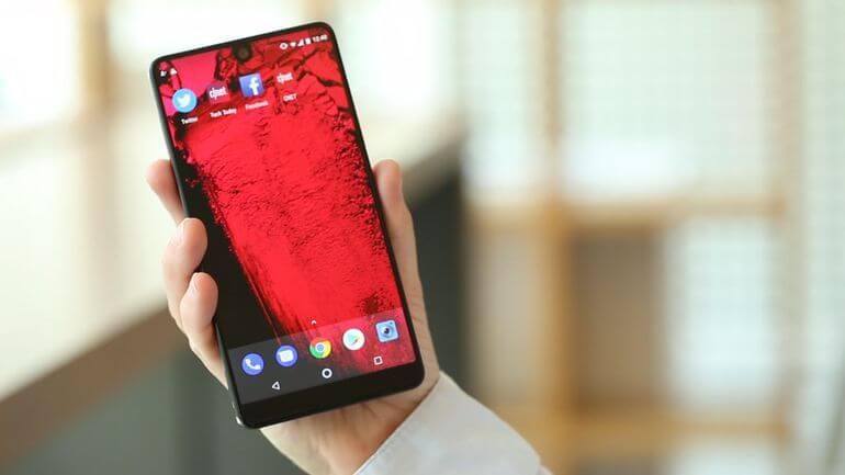 Essential Phone prepara un teléfono que podrá enviar mensajes por ti