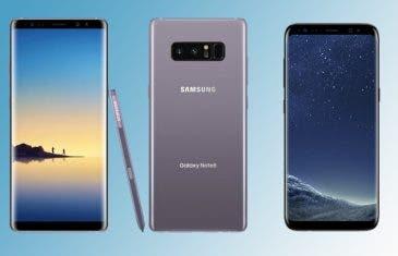 Samsung Galaxy Note 8 vs Samsung Galaxy S8+: enfrentamos los dos grandes de Samsung
