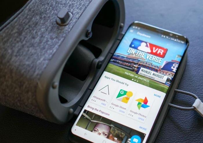Ya puedes usar Daydream VR en los Samsung Galaxy S8
