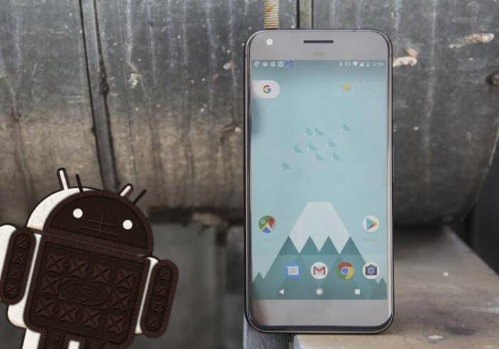 Google pixel android oreo