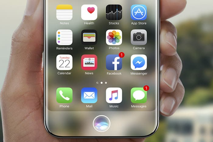 ¿Podría copiar el Galaxy S9 al iPhone 8 eliminando el sensor de huellas?