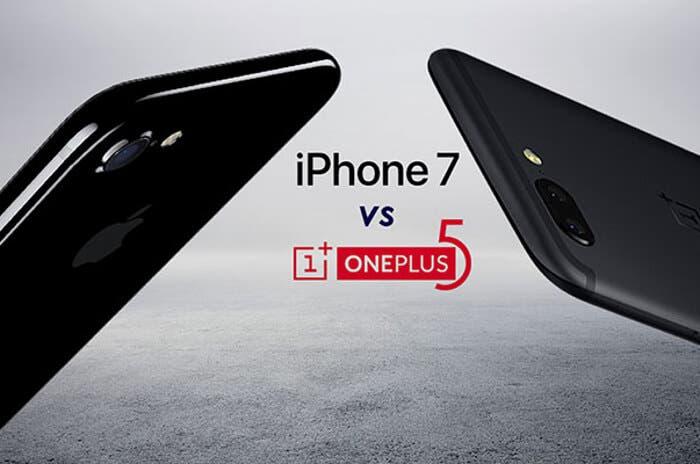 OnePlus 5 vs iPhone 7, ¿qué pantalla es más resistente?