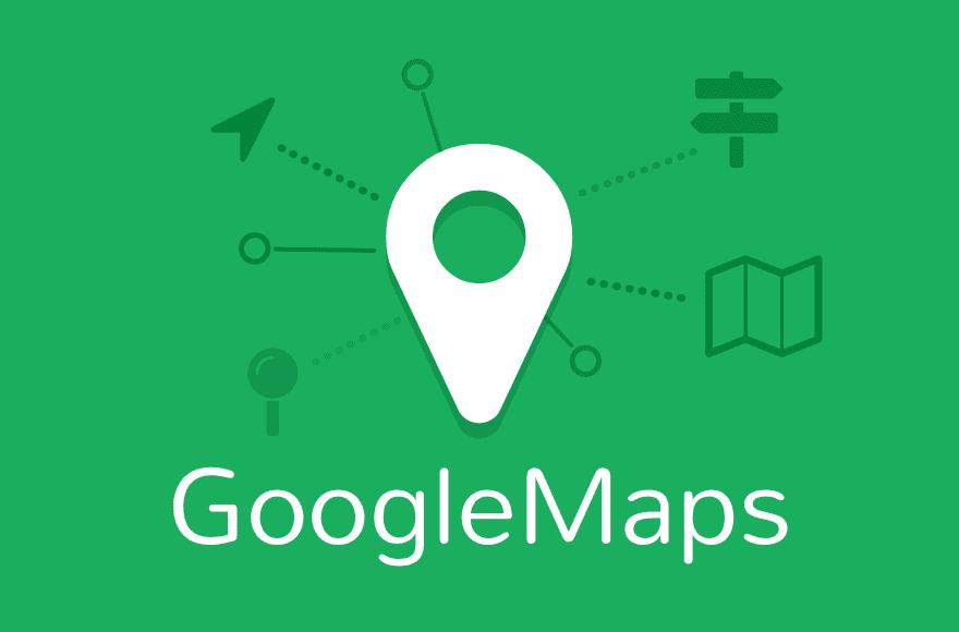 Google maps dibujo