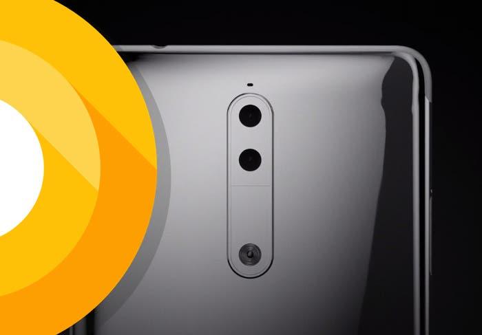 El Nokia 8 podría llegar con Android O y ser el primero en tener esta versión