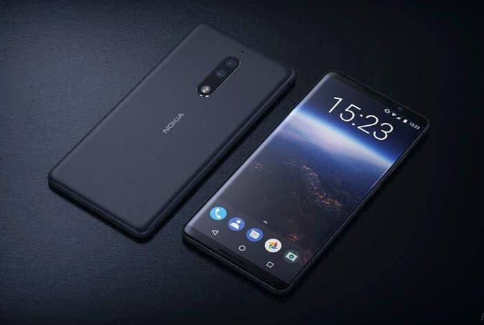 El próximo Nokia podría venir con una pantalla más grande que la del Nokia 8