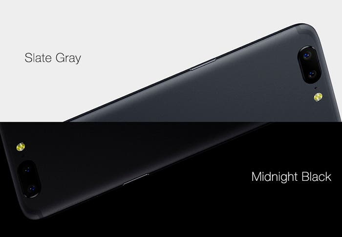 Colores OnePlus 5