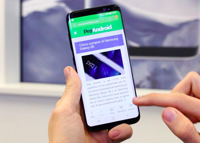 Oferta del Samsung Galaxy S8 Plus con más de 200€ de descuento