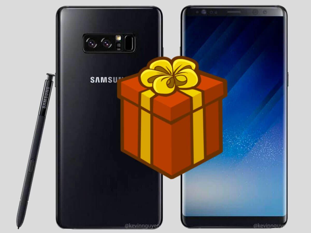 Estos son los regalos que Samsung te hará por reservar el Galaxy Note 8