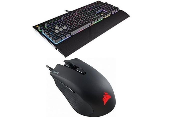 teclado corsair y raton