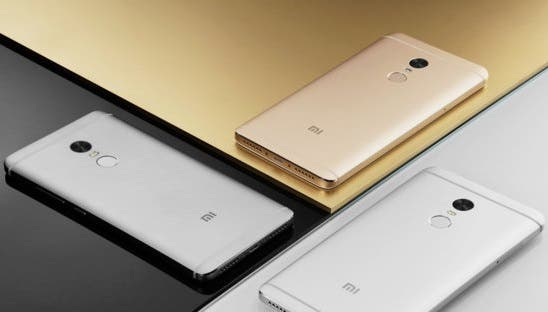xiaomi redmi note 4 oferta colores