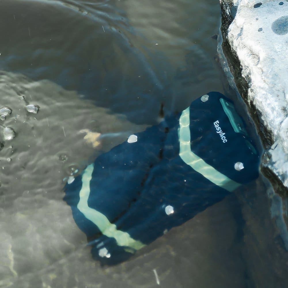 Batería bajo el agua
