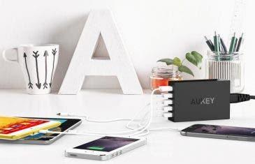 Consigue estos accesorios de Aukey al mejor precio: baterías, cargadores y más