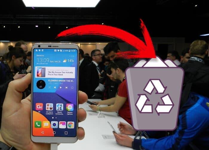 Cómo tener una papelera de reciclaje en tu móvil Android