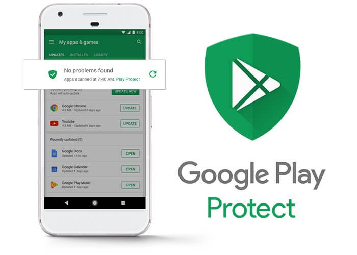Google Play Protect pixel
