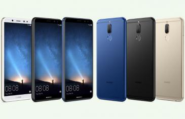 El Huawei Mate 10 Lite acaba de ser presentado en China…con otro nombre