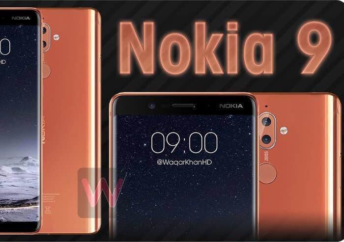 Así podría ser la nueva pantalla del Nokia 9 según las filtraciones