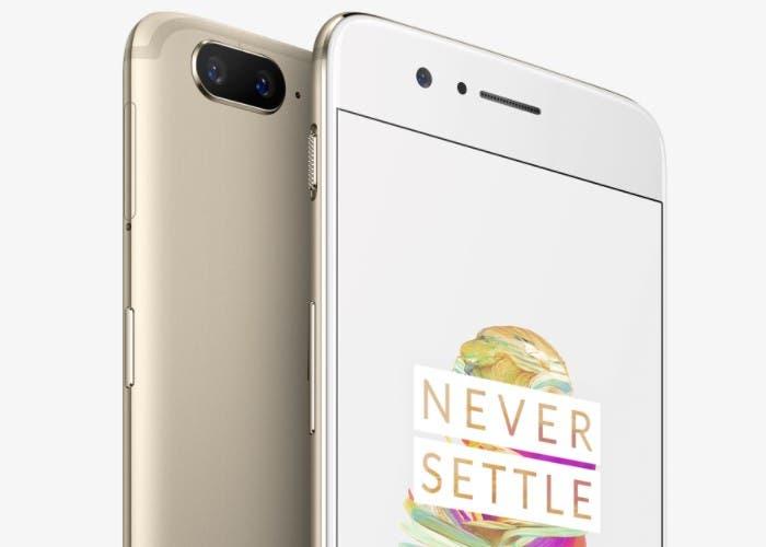 OnePlus 5 dorado