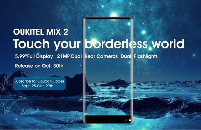 Oukitel Mix 2 vs Xiaomi Mi MIX 2: batalla de smartphones a toda pantalla