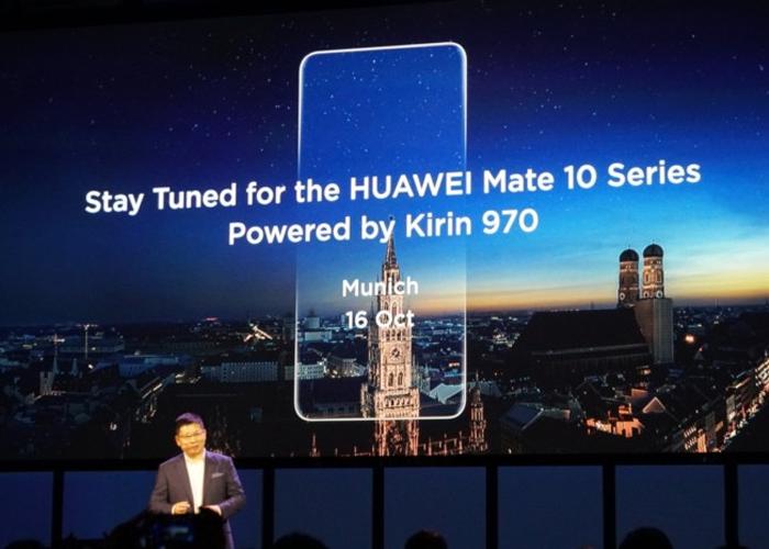 El Huawei Mate 10 aparece en un vídeo render con todo lujo de detalles