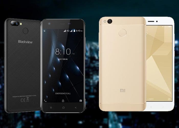 Comparativa entre Blackview A7 Pro vs Xiaomi Redmi 4X, ¿qué dispositivo comprar?