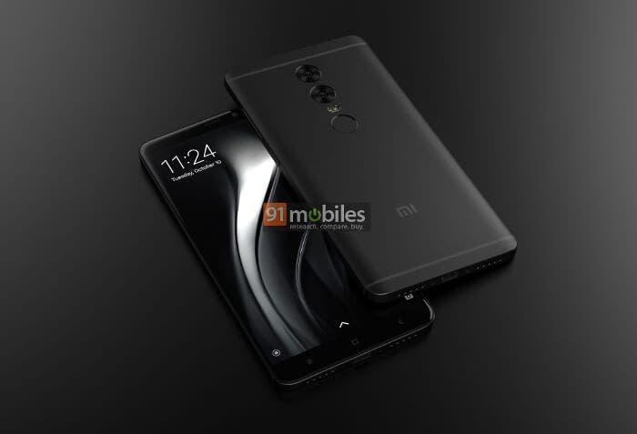 Los primeros renders del Xiaomi Redmi Note 5 revelan una doble cámara trasera