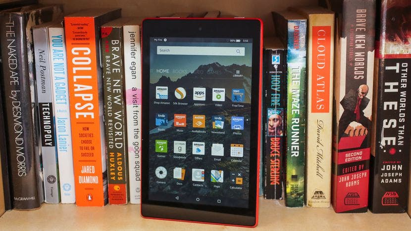 frontal amazon fire hd 8