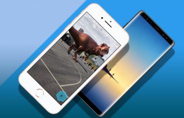Samsung Galaxy Note 8 vs iPhone 8 Plus: ¿qué pantalla resiste más caídas?