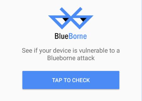 aplicación blueborne