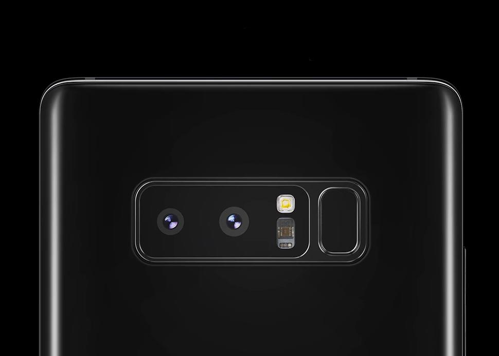 Una actualización hará que el Galaxy Note 8 grabe como el iPhone X