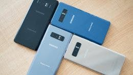 Colores Samsung Galaxy Note 8