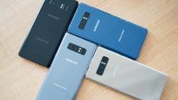 Colores Samsung Galaxy Note 8