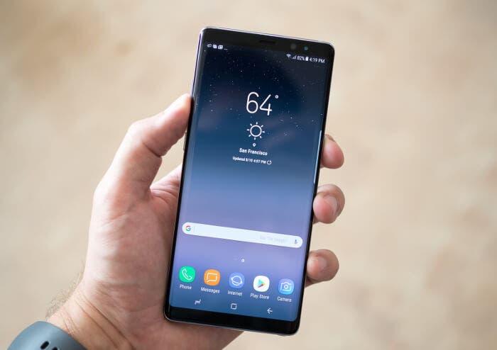 El Samsung Galaxy Note 8 ya cuesta menos de 1000 euros en Amazon
