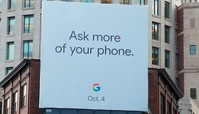 Anuncio Google Pixel 2