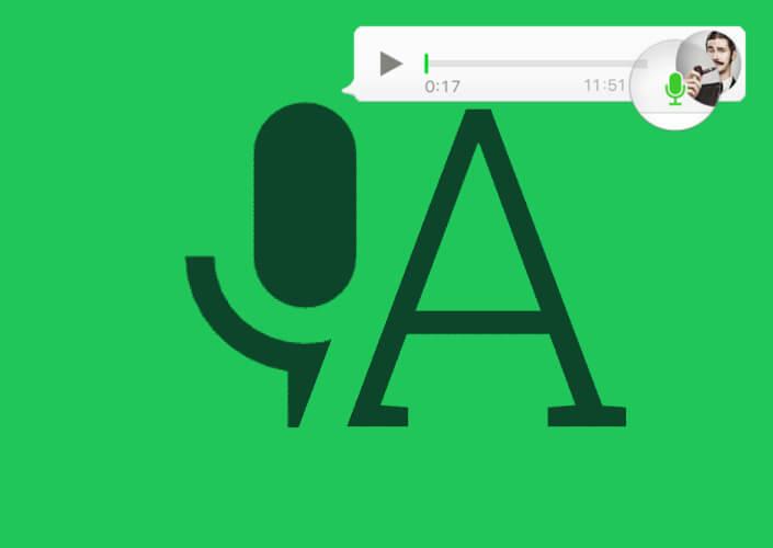 Esta aplicación pasa las notas de voz de WhatsApp a texto en solo unos segundos