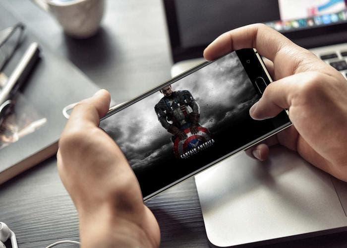 La duración de batería del Oukitel K3 es ideal para ver películas y series