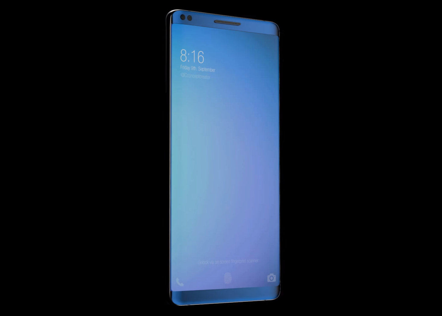 Xiaomi Mi7 Render