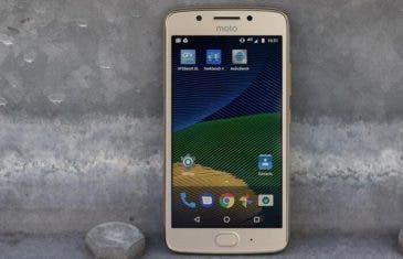 La actualización de Android Oreo 8.1 para el Motorola Moto G5 estaría al caer