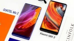 Xiaomi Mi MIX 2 y OUKITEL Mix 2