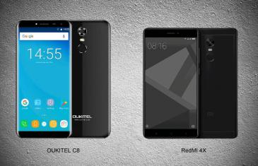 El Oukitel C8 le pone las cosas difíciles al Xiaomi Redmi 4X