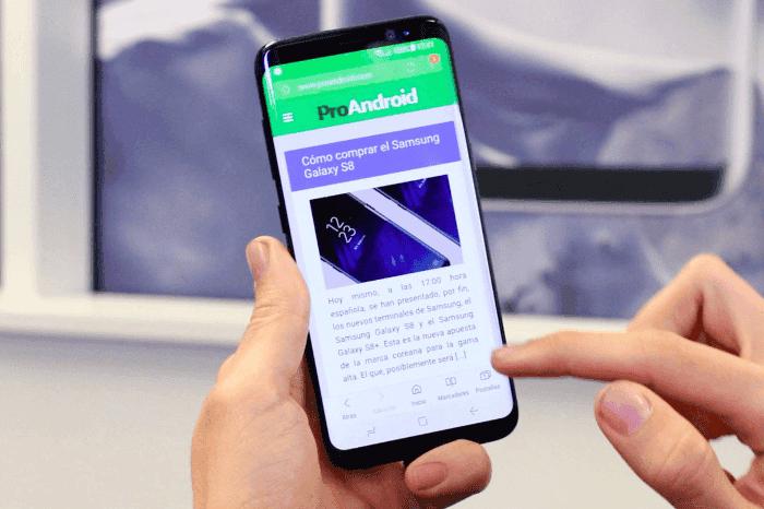 El Samsung Galaxy S8 pronto recibirá la primera beta con Android Oreo