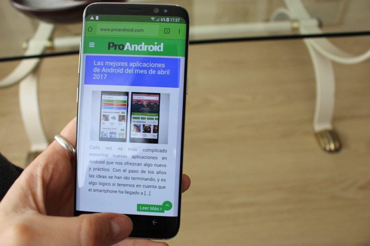 Comienza el desarrollo de Android 8 Oreo para el Samsung Galaxy S8